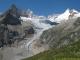 Aiguille du Triolet, Glacier de Pré de Bar et Mont Dolent