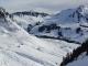 Superbe montée avec le Mont Blanc en arrière plan (29 janvier 2006)