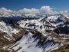 Vue sur Sommand et le Massif du Mont-Blanc (9 avril 2017)