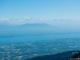 Vue sur le Léman et la Chaine du Mont-Blanc (23 avril 2017)
