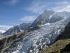 Aiguille du Midi et Glacier des Bossons