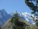 Vue sur le Mont-Blanc (18 aout 2007)