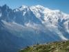 Aiguille du Midi et Mont Blanc (7 aout 2015)