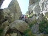 Passage dans les rochers (18 aout 2007)
