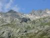 Chalet du Lac Blanc au fond (18 aout 2007)