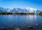 Vue sur la Chaine du Mont-Blanc depuis le Lac des Chéserys (7 aout 2015)