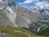 Glacier de Fréiney et Val Veny