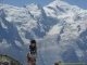 Superbe panorama face au Mont Blanc