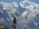 Superbe panorama face au Mont Blanc