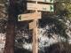 Au panneau, tourner à gauche pour aller au Lac d'Armancette (25 novembre 2018)