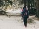 Le sentier continue dans la forêt (25 novembre 2018)