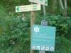 Panneau de la réserve