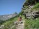 Pointe de Sans Bet en arrière plan (2 aout 2011)