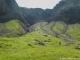 Sentier cairné menant au Pas à l'Ours (2 aout 2011)
