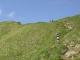 En allant vers l'Aiguille Verte