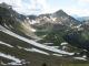 Vue sur la combe de Lessy depuis le Col de Sosay
