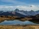 Lac de Peyre avec vue sur les Aravis et le Massif du Mont-Blanc (15 novembre 2015)