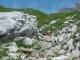 Sentier un peu escarpé (27 juin 2004)