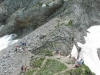 Sentier à la descente (27 juin 2004)