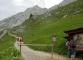 Départ du sentier au col de la Colombière (27 juin 2004)