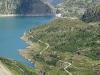 Lac et barrage d'Emosson
