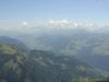 La Chaine du Mont-Blanc au fond