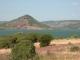 Magnifique lac bordé de terre rouge (ruffe), au calme et à la tranquillité incomparable (10 juillet 2003)