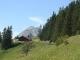 Au départ du sentier du Lac d'Arvouin
