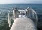 Embarcadère gelé à Corsier Port