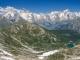 Vue sur le Massif du Mont-Blanc (18 juin 2017)