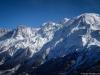 Aiguille du Midi, Mont Blanc du Tacul, Mont Maudit, Mont Blanc et Dôme du Gouter (23 février 2014)