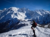 Mont Maudit, Mont Blanc, Dôme du Gouter, Aiguille de Bionassay et Dômes de Miage (23 février 2014)