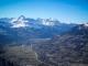 Massif des Aravis avec la Pointe Percée et la Pointe d'Areu (23 février 2014)