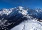 Chaine du Mont-Blanc depuis le Prarion (23 février 2014)