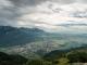 Vue sur le Massif des Bornes (29 juillet 2017)
