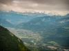Vue sur la Vallée de l'Arve (29 juillet 2017)
