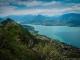 Vue sur le Lac d'Annecy et le Mont Baret