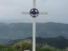 Croix au sommet du Mont Billiat
