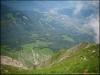 Vue vertigineuse sur la vallée