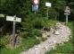 Départ au parking des Sardoches où l'on prendra le chemin de droite...