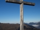 Croix au sommet (18 novembre 2018)