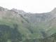 Panorama sur le Roc d'Enfer à droite et la Pointe d'Uble à gauche
