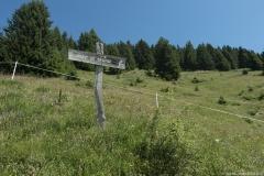 Le premier panneau indiquant le Mont de Grange apparait ! (1er août 2019)
