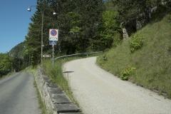 Prendre le Chemin du Réservoir sur la droite (31 mai 2019)