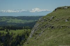 Mont Blanc en arrière plan (31 mai 2019)