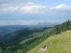 Vue depuis le Mont Forchat sur le Léman