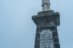 Statue de St-François de Sales au sommet (1er octobre 2017)