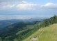 Vue depuis le Mont Forchat sur le Léman (30 juillet 2005)