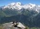 Balcon sur le Mont-Blanc et les Dômes de Miage