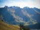 Tête de Paccaly, Roche Perfia, Tête Pelouse et Grande Torche depuis le Col de Châtillon